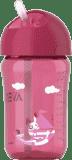 AVENT Hrneček s brčkem 340 ml - růžový