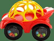 OBALL Hračka autíčko Rattle & Roll™, žlté, 3m+