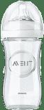 AVENT Dojčenská fľaša Natural 1m+, 240 ml sklenená, 1 ks