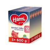 5 x HAMI 12+ Na dobrou noc (600 g) - kojenecké mléko