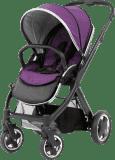 BABYSTYLE OYSTER 2 Kočárek, černý rám + Colour pack, wild purple (2017)