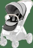 BABYSTYLE OYSTER 2/MAX Colour pack k sedací části kočárku, pure silver 2018