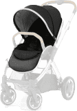 BABYSTYLE OYSTER 2/MAX Colour pack k sedacej časti kočíka, ink black 2018
