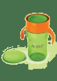 AVENT Kubek do nauki samodzielnego picia 340 ml – zielony