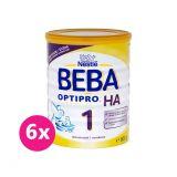 6 x BEBA OPTIPRO HA 1 (800 g) - kojenecké mléko
