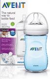 AVENT Dojčenská fľaša 260 ml Natural 1m+, PP -  modrá