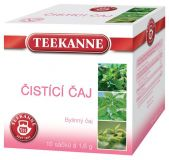 TEEKANNE bylinný čaj - čistící čaj, 10 sáčků