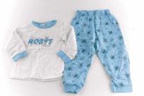 Pyžamo klasické s nápletem WOLF