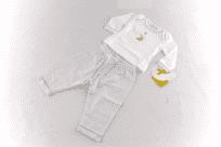 Pyžamo klasické rovné nohavice magnolia baby