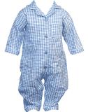 Pyžamo klasické rovné nohavice Carlsteins