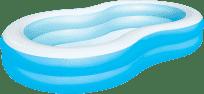 BESTWAY Nafukovací bazén lagúna modrý - 262 x 157 x 46 cm