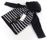 Sweter z kapturem Batela