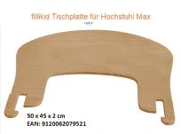 Jídelní židlička vysoká Fillikid