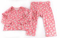 Pyžamo klasické rovné nohavice F&F