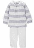 Pyžamo klasické rovné nohavice Petit Bateau