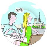 Talerzyk petit jour paris