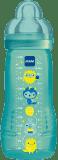 MAM Baby Bottle - butelka, smoczek rozmiar 3, 330 ml niebieska - losowy motyw