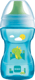 MAM Hrnek na učení Fun to drink cup 8m+ 270ml modrý – náhodný motiv
