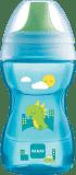 MAM Learn to Drink Cup - kubeczek z twardym ustnikiem (8m+) 270 ml – niebieski