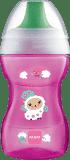 MAM Hrnek na učení Fun to drink cup 8 m+ 270 ml růžový – náhodný motiv