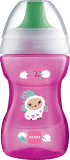 MAM Learn to Drink Cup - kubeczek z twardym ustnikiem (8m+) 270 ml – różowy