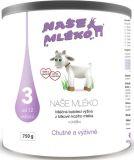 NAŠE MLÉKO 3 (12m+) 750 g - mliečna dojčenská výživa