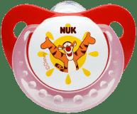 NUK Dudlík Trendline Disney, silikon, ortodontický, velikost 2 (6-18 m) - červený