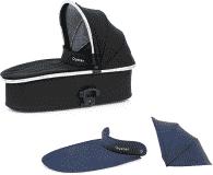 BABYSTYLE OYSTER 2/MAX/Zero Korba ke kočárku, černá + Colour pack, oxford blue 2018
