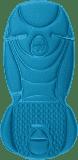 BABYSTYLE EGG Podložka do kočárku Kingfisher Blue 2017