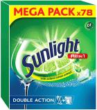 SUNLIGHT All in One Regular 78ks – tablety do myčky