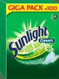 SUNLIGHT Classic Regular 100ks – tablety do myčky