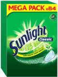 SUNLIGHT Classic Regular 84 szt. – tabletki do zmywarki