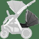 BABYSTYLE OYSTER MAX Kočárek Lie-Flat Tandem colour pack, tungsten grey 2018