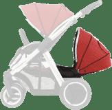 BABYSTYLE OYSTER MAX Kočárek Lie-Flat Tandem colour pack, tango red 2018