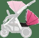 BABYSTYLE OYSTER MAX Kočárek Lie-Flat Tandem colour pack, wow pink 2018
