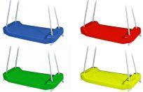 CHEMOPLAST Huśtawka plastikowa – zielona