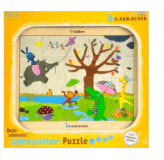 Puzzle Kikaninchen