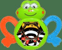 WIKY Chrastítko žabka 14cm