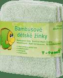 T-TOMI Žinky kúpacie 4 ks, zelená/biela