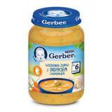 GERBER Wiosenna zupka z indykiem i koperkiem (190g)