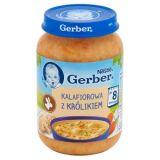 GERBER Domowa zupka kalafiorowa z królikiem (190g)