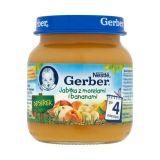 GERBER Jabłka z morelami i bananami (125g) deserek