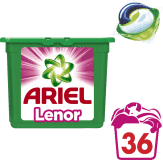 ARIEL Touch of Lenor Fresh 3v1 (36ks) – gélové pracie kapsuly