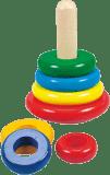 BINO Skládací pyramida, barevná