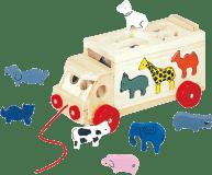 BINO Skládací kamion se zvířaty