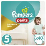 PAMPERS Premium Care Pants 5 JUNIOR 40 szt. (12-18 kg) – pieluchomajtki