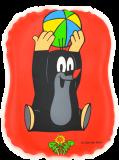 WIKY Pískací polštářek Krtek – různé barevné varianty