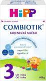 HIPP 3 JUNIOR Combiotik (600 g) - mléčná kojenecká výživa