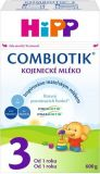 HIPP 3 JUNIOR Combiotik (600 g) - mliečna dojčenská výživa