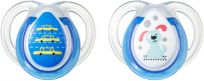 TOMMEE TIPPEE Šidítko CTN silikon Any Time 2 ks 0-6m-modré